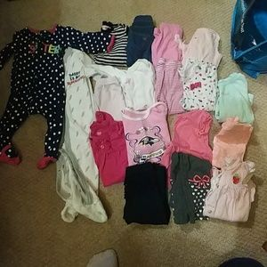 Other - 6-9mos girls lot. 18 items.